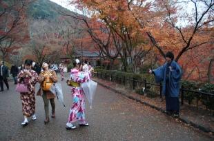 Kimono Tourists!