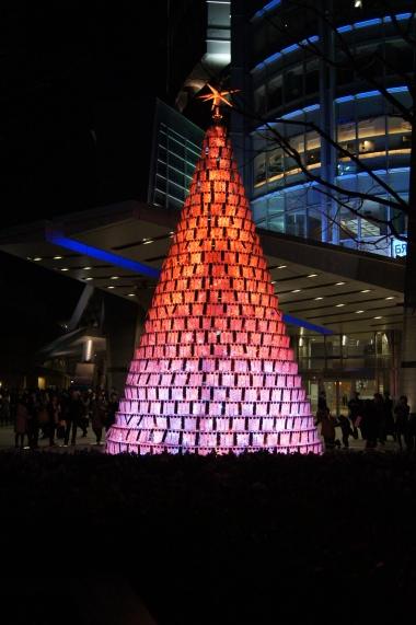 Red Christmas Tree