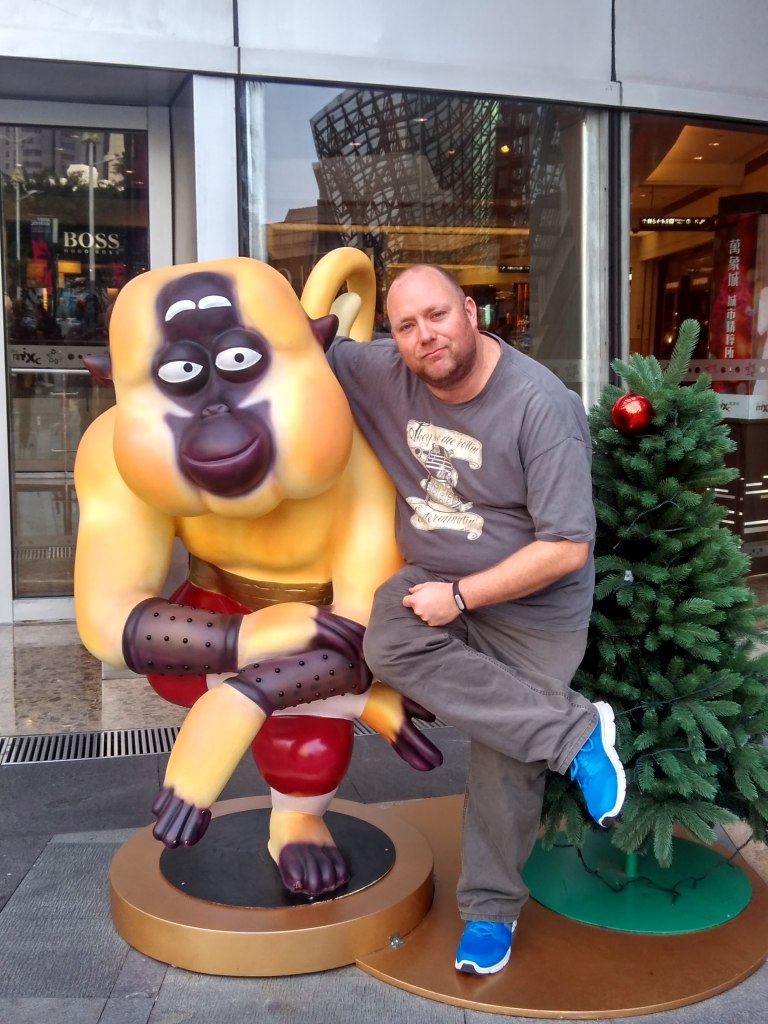 Me and Master Monkey