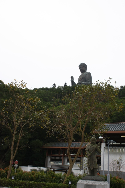 Buddha seen From the Statues