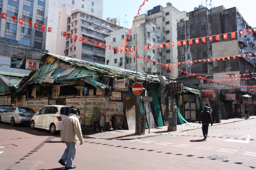 Empty market Street