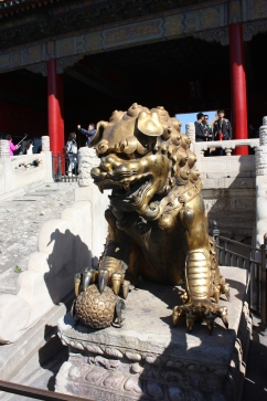 A Bronze Lion