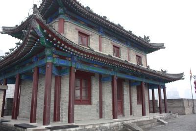 Corner Sentry Building