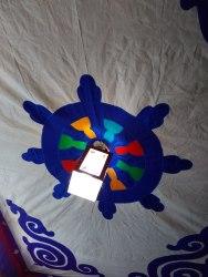 Ceiling of Tashi 1